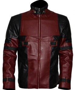 Deadpool Red And Black Jacket