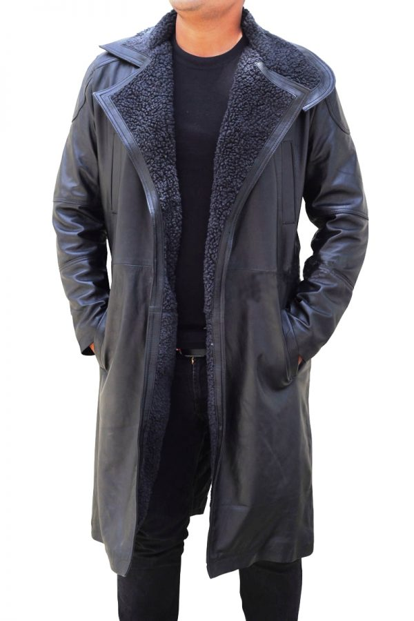 2049 Leather Coat