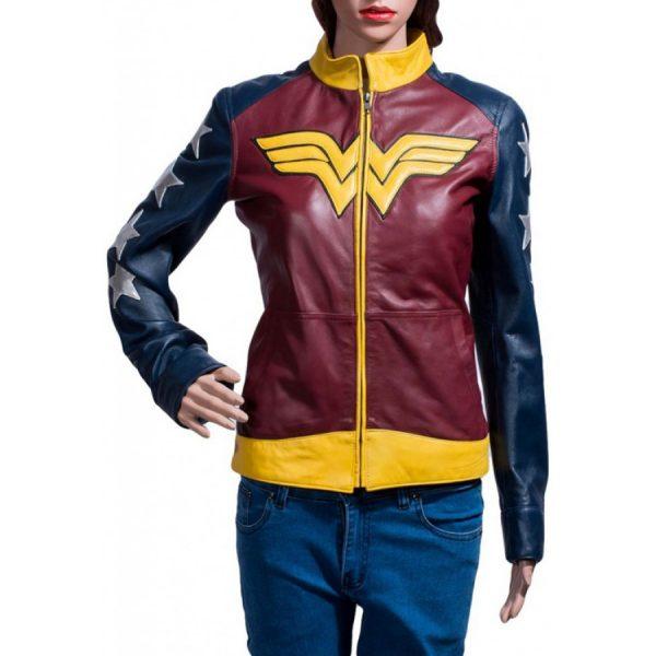 Themyscira Leather Jacket