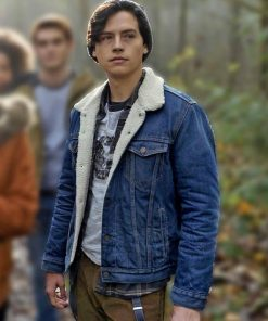Riverdale Denim Shearling Jacket