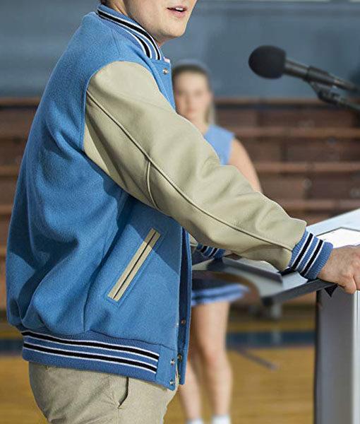 Justin Foley 13 Reasons Why Varsity Bomber Jacket