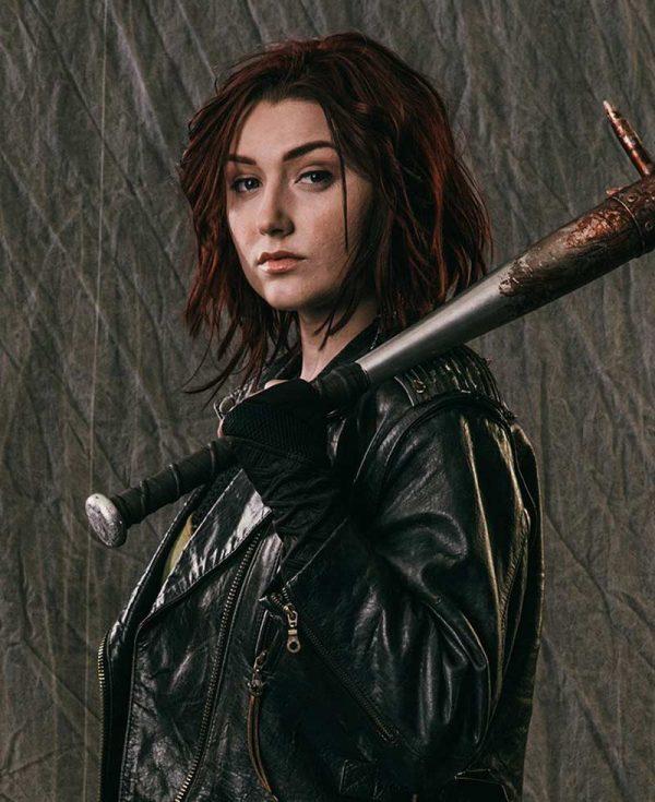 Anastasia Baranova Addison Carver Z Nation Leather Jacket