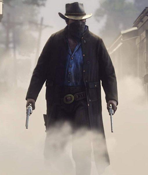 Arthur Morgan Red Dead Redemption II Game Brown Coat