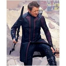 Jeremy Renner Avengers Age of Ultron Coat