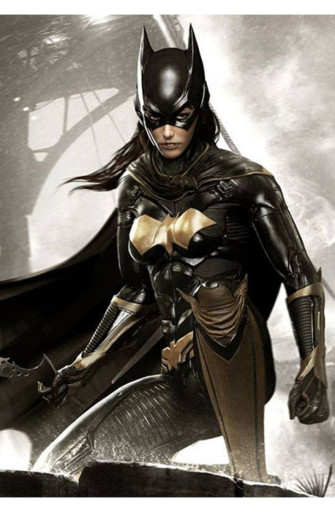 Arkham Knight Batman Black Leather Jacket
