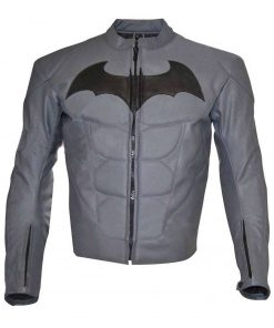 Batman Arkham Knight Batman Logo Leather Jacket
