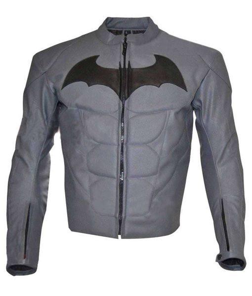 Batman Arkham Knight Batman Logo Leather Jacket