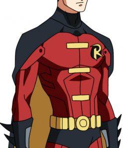 Tim Drake Batman Red Robin Jacket