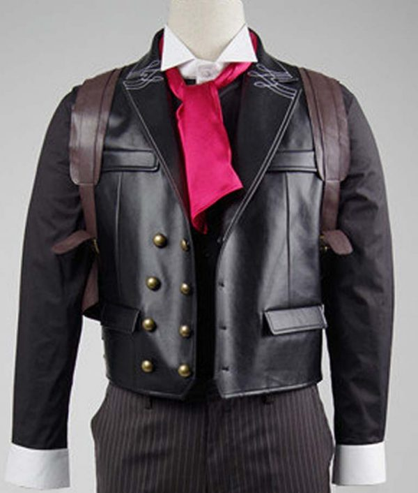 Booker DeWitt Bioshock Infinite Black Vest