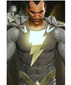 Injustice 2 Video Game Black Adam Grey Jacket