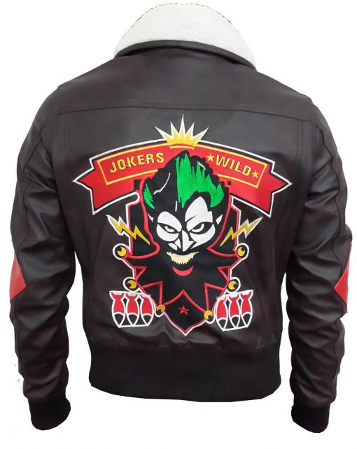 Harley Quinn Bombshells Aviator Jacket