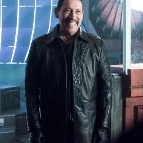 The Flash TV Series Danny Trejo Leather Coat