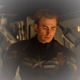 Avengers 4 Captain America Leather Jacket