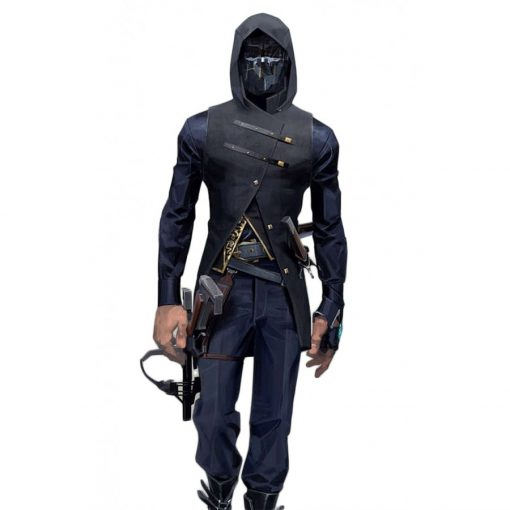 Dishonored 2 Video Game Corvo Attano Black Vest