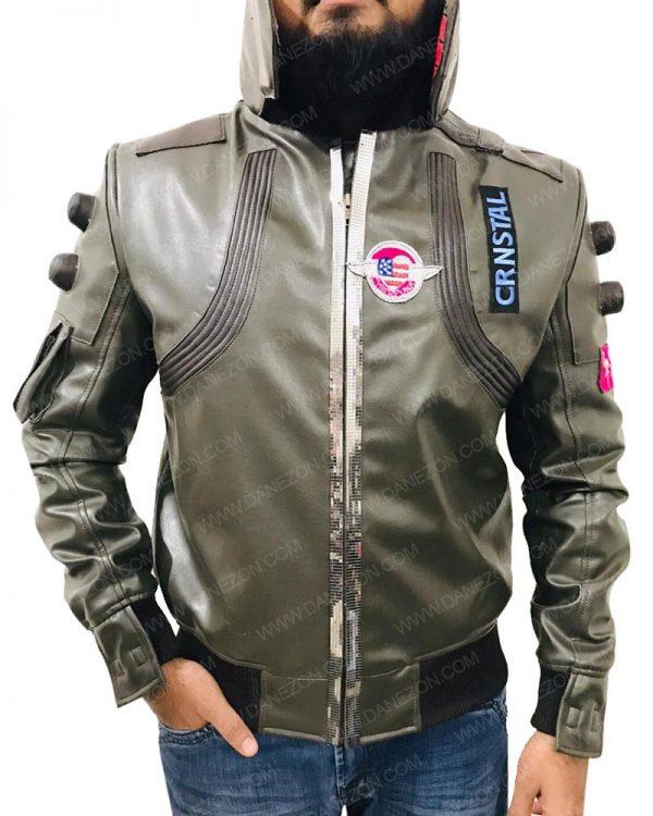 Samurai Cyberpunk 2077 Bomber Jacket