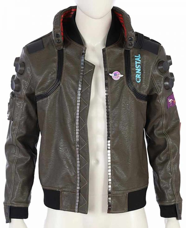 Cyberpunk 2077 Video Game Samurai Grey Jacket