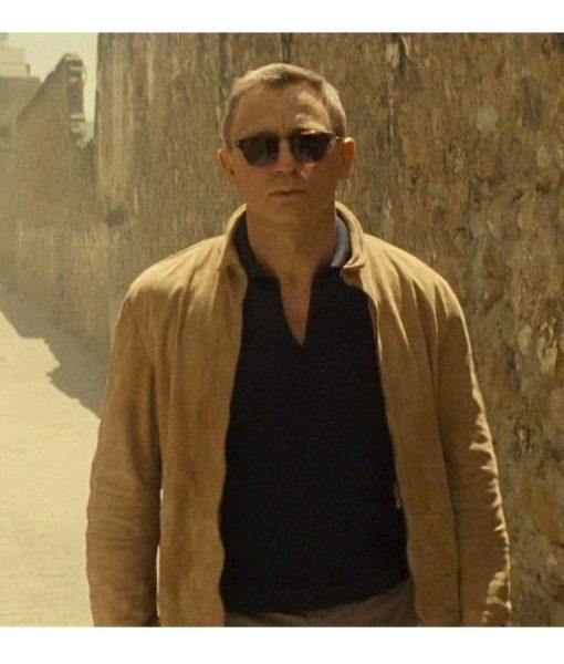 Spectre Morocco James Bond Suede Jacket