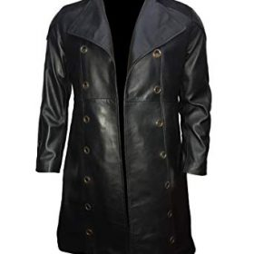 Human Revolution Adam Jensen Black Long Trench Coat