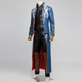 Dante Vergil Devil May Cry 3 Leather Jacket