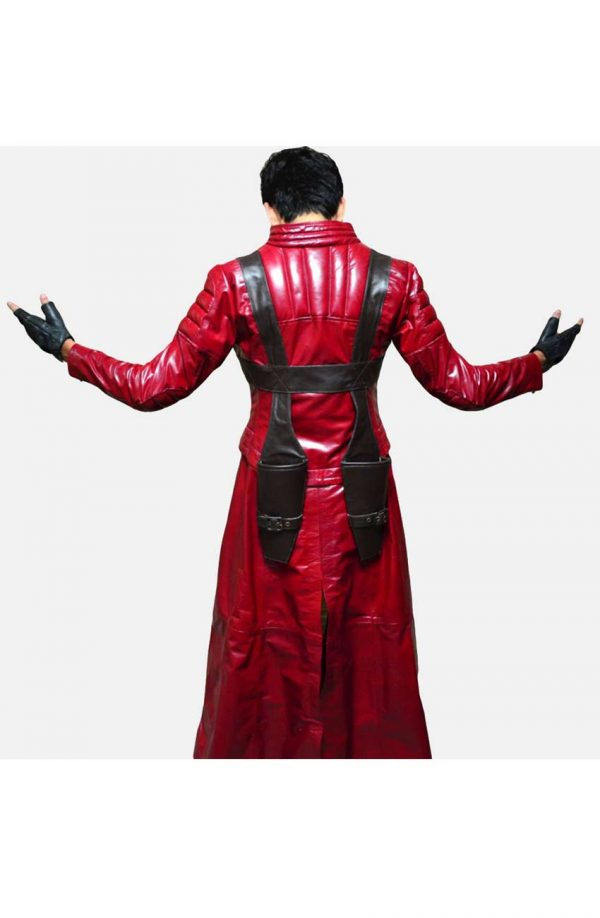 Devil May Cry 3 Dante's Awakening Trench Leather Coat
