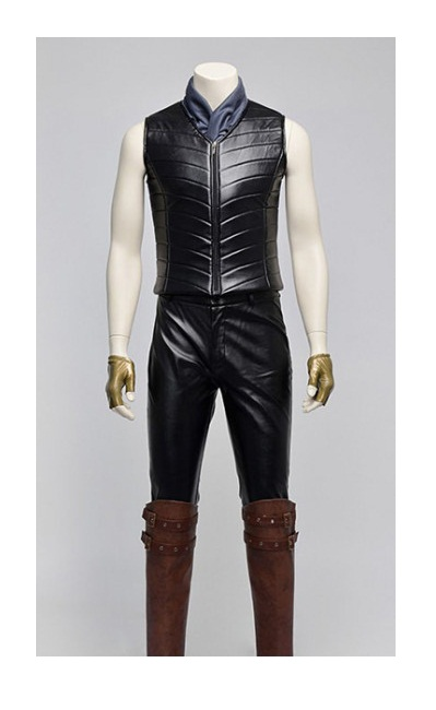 Vergil Devil May Cry 3 Leather Jacket with Vest