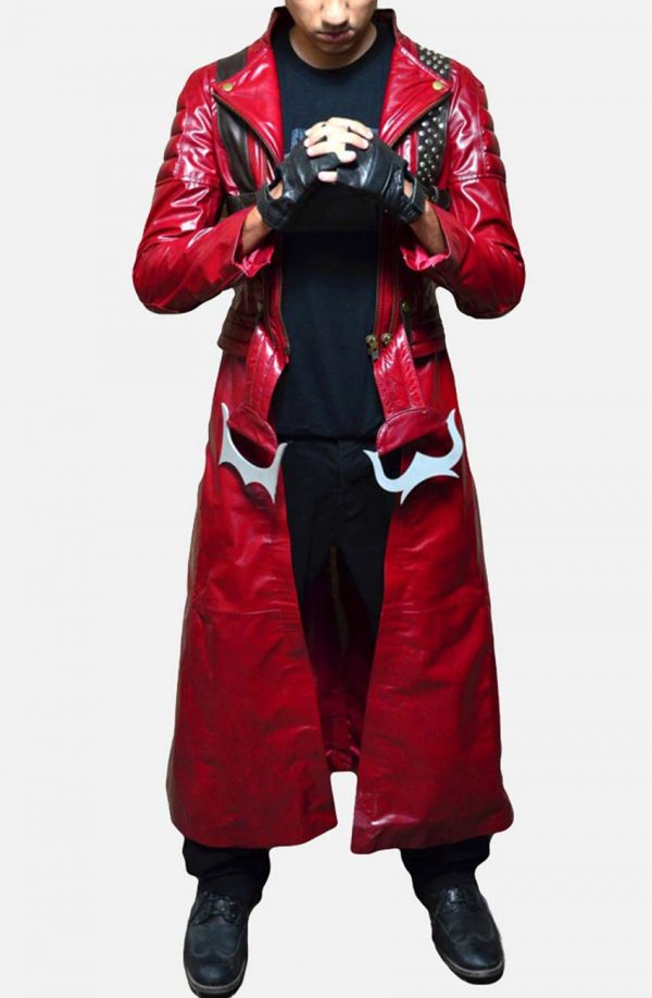 Devil May Cry 3 Dante's Awakening Red Leather Coat
