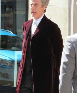 Doctor Who Peter Capaldi Velvet Coat