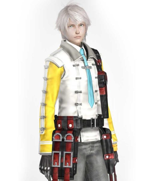 Hope Estheim Final Fantasy 13 Double Breasted Jacket