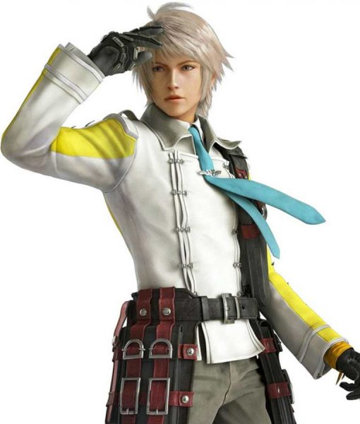 Hope Estheim Final Fantasy XIII Double Breasted Leather Jacket