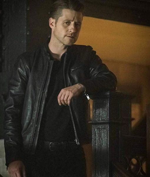 Ben McKenzie Gotham TV Series Leather Jacket