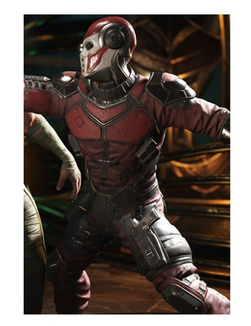 Deadshot Injustice 2 Video Game Leather Jacket