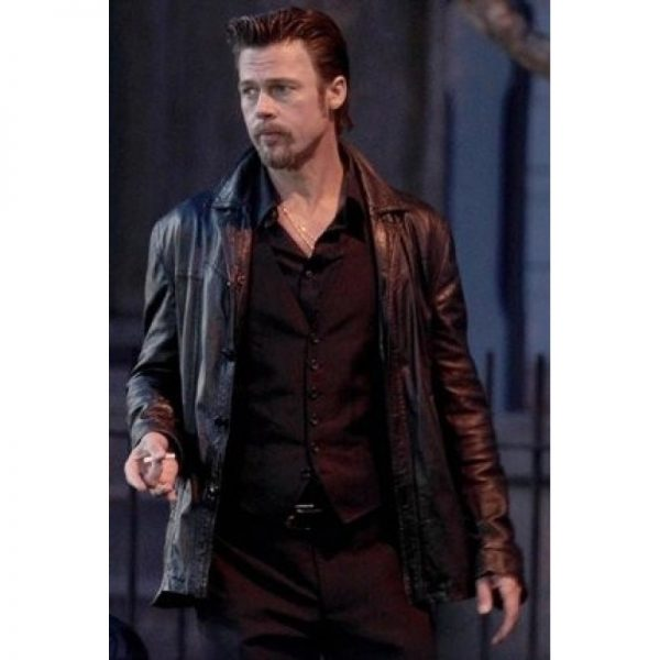 Killing Them Softly Jackie Cogan Black Jacket