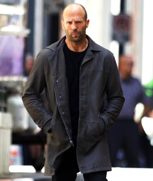 Deckard Shaw The Fate Of The Furious Black Jacket
