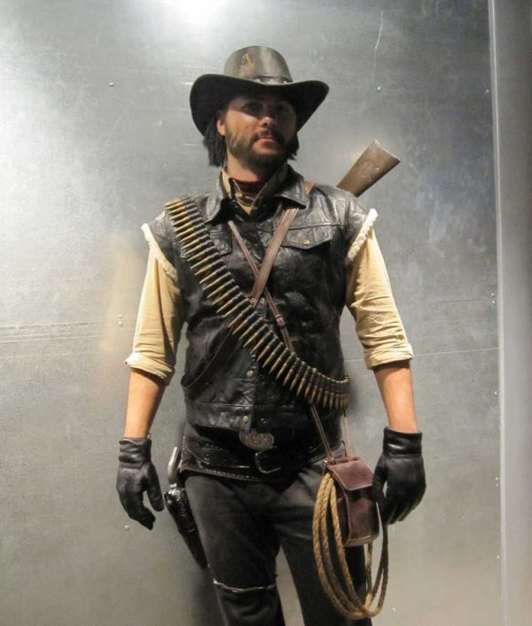 John Marston Red Dead Redemption Black Vest