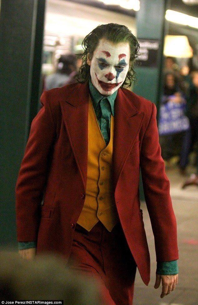 Joker Red Suit