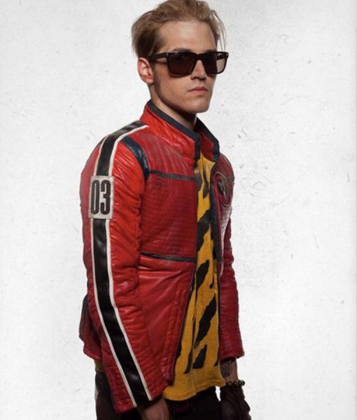 Mikey Way My Chemical Romance Leather Jacket