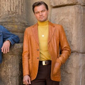 Rick Dalton Once Upon A Time In Hollywood Leather Blazer