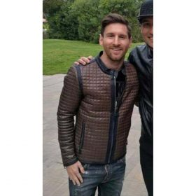 Lionel Messi Quilted Jacket