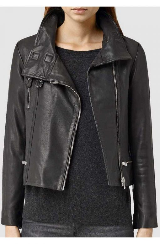 Agents of S.H.I.E.L.D. Melinda May Black Leather Jacket