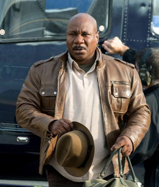 Mission Impossible 5 Luther Stickell Brown Jacket
