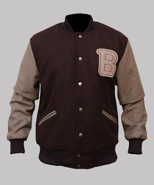 Payday 2 B Logo Letterman Jacket