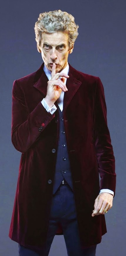 12th Doctor Peter Capaldi Maroon Coat
