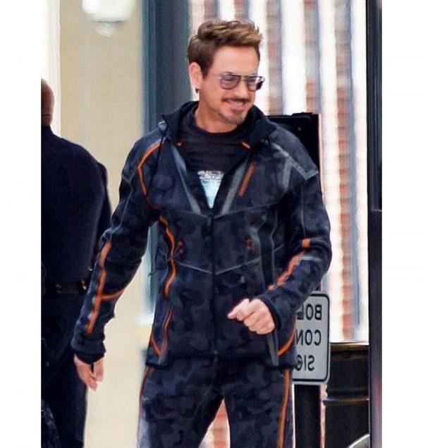 Tony Stark Avengers Infinity War Cotton Jacket