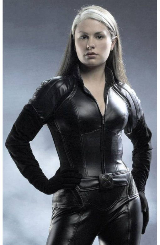 Anna Paquin X Men The Last Stand Black Leather Jacket