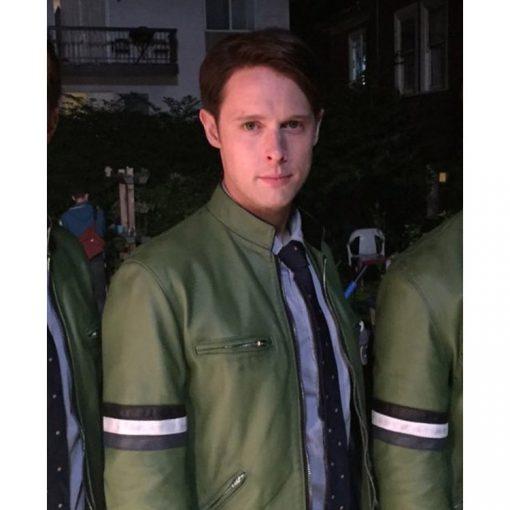 Gently Holistic Samuel Barnett Leather Jacket