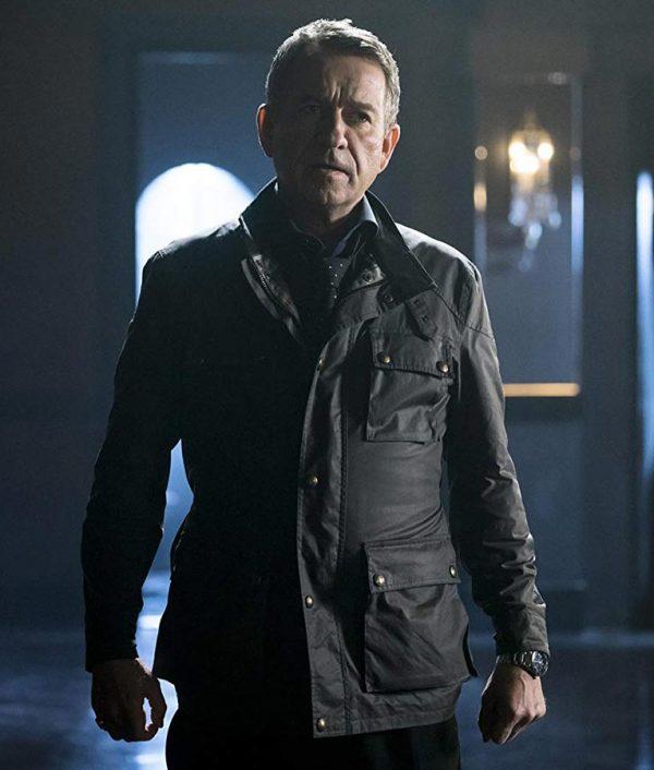 Alfred Pennyworth TV Series Gotham Leather Jacket