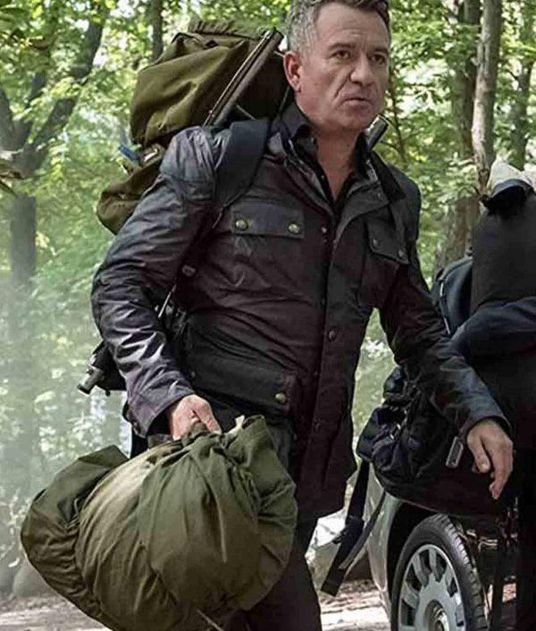 Gotham TV Series Sean Pertwee Leather Jacket