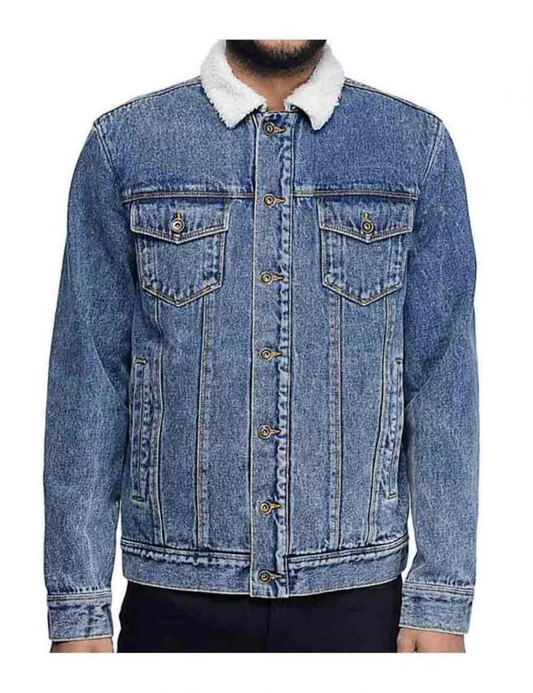 William H Macy Shameless Blue Jacket