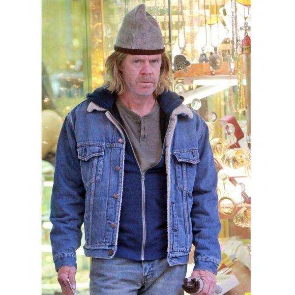 Frank Gallagher Shameless TV Series Denim Jacket