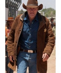 Robert Taylor Longmire Suede Leather Coat